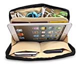 King of Flash BUBM iPad Mini / 7'' Generic Tablet Grey Strong Padded Zip Up Pouch Bag Travel Card Accessories Case
