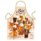 ''Beer Garden'' - Kitchen Apron - 100% Polyester
