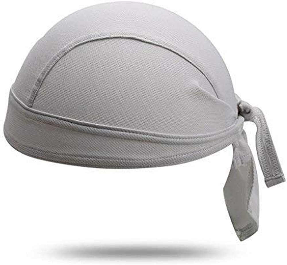 Hysenm Skull Cap Cycling Cap Bandana Under Helmet Liner Sports Headscarf