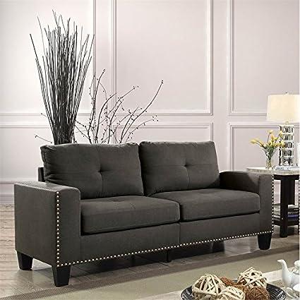 Amazon.com: Furniture of America Zilly Modern Victorian Sofa ...