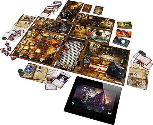 Fantasy Flight Games - FFGMAD20 - Mansions of Madness - Juego de Mesa, Segunda edición (Juego Principal): Amazon.es: Juguetes y juegos