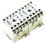 GE CR6VAA3B REVERSING MAGNETIC CONTACTOR FITS SPRECHER SCHUH CAU4-5-01-120 120V AC COIL