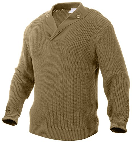 Rothco Wwii Vintage Sweater, Khaki, Medium by Rothco (Image #1)