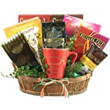 Gift Basket Village Cabin Fever Gourmet Coffee and Get Well Gift Basket