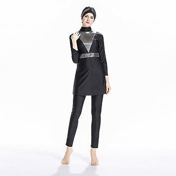 eba871061ae ziyimaoyi Muslim Swimwear Islamic Swimsuit For Women Hijab Swimwear Full  Coverage Swimwear Muslim Swimming Beachwear Swim