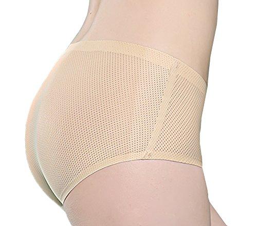 Qianerzi 2 Pack Bikini Panties Super Soft Nylon Mesh Brief Hipster Cheeky for Sexy Women and Girls ()