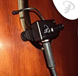 JAZZ UPRIGHT BASS MICROPHONE with 6'' FLEXIBLE MICRO-GOOSE NECK by Myers Pickups ~ See it in ACTION! Copy and paste: myerspickups.com, Upright Bass Microphone