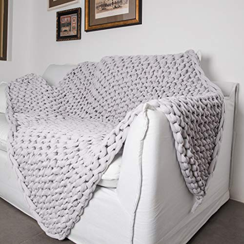 inverse-growth-Adult-Weighted-Blanket-275-LB-Chunky-Knit-Blanket-Handmade-Home-Decor-Heavy-Blanket-Gray-5979