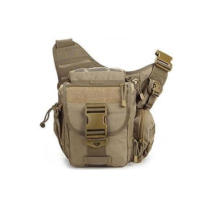 adsro Hombres Mujeres Cool deportes al aire libre mochila de nylon militar Bolsa de deporte resistente