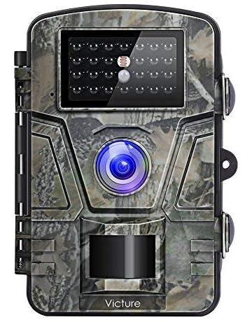 Victure Cámara de Caza Vigilancia 12MP 1080P IP66 Impermeable PIR Sensor de Movimiento Visión Nocturna 90