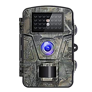Victure Cámara de Caza Vigilancia 12MP 1080P IP66 Impermeable 24 IR Invisible 1 PIR Sensor de