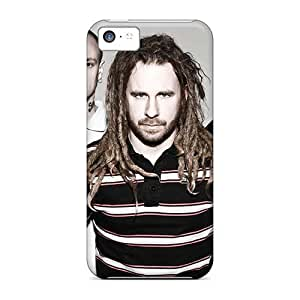 AshleySimms Iphone 5c Shock Absorbent Hard Cell-phone Cases Custom Beautiful In Flames Band Pictures [ALU2898WGHY]