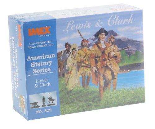 Lewis & Clark American History Figures Set 1/72 Imex