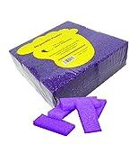 40pc Coarse CT Mini Disposable Pumice Pads- Purple