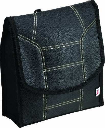 Bell Automotive 22-1-30271-8 Black Stitched Litter Bag