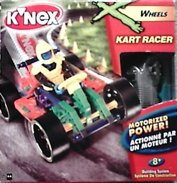 Knex Racers (K'Nex Wheels Motorized Power Kart Racer)