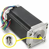Nema23 CNC Stepper Motor 425oz-in 112mm 3A 2.8N.m 1.8° 4 lead wire for CNC Router Engraving Milling Lathe Machine