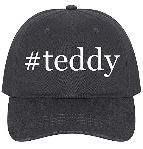 #Teddy - A Nice Comfortable Adjustable Hashtag Dad Hat Cap, Dark - Steiff Ball