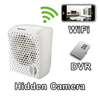 PalmVID WiFi Air Cleaner Hidden Camera Spy Camera with Live Video Viewing
