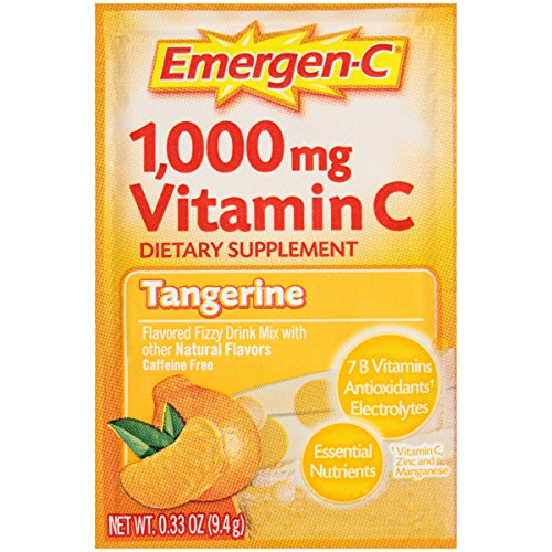 076314302024 - Emergen-C Vitamin C Drink Mix Packets Tangerine 30 Each (Pack of 6) carousel main 4