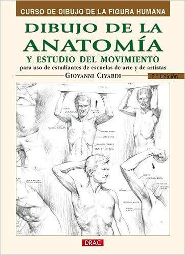 Dibujo de La Anatomia y Estudio del Movimiento: Amazon.es: Giovanni ...