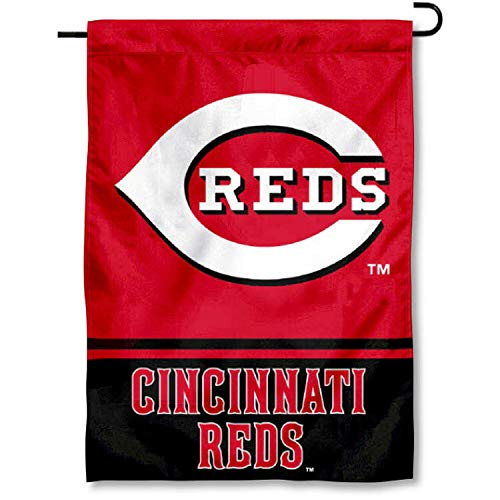 Cincinnati Reds Double Sided Garden Flag ()
