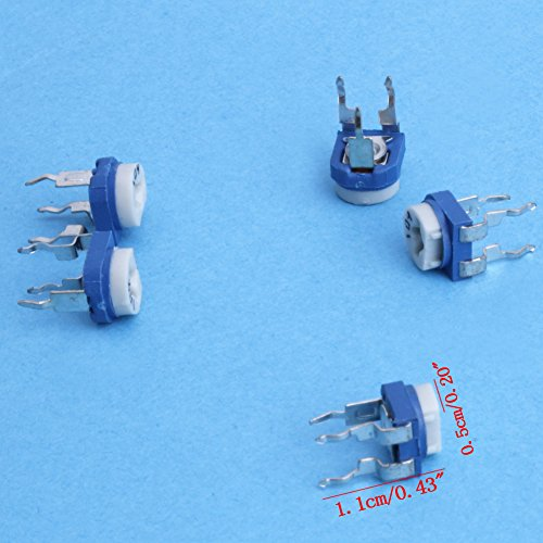 65 Pcs Variable Resistor Potentiometer Assortment Kit 13-value New