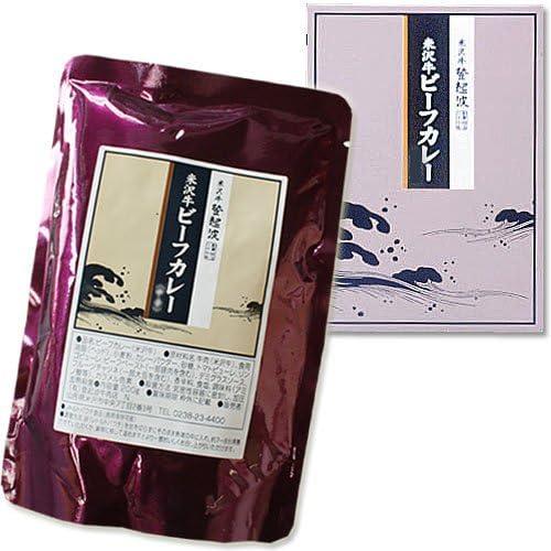 米沢牛登起波 米沢牛ビーフカレー(甘口・200g×1箱・ギフト箱入り)