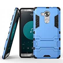 Mate 8 Case,EVERGREENBUYING Slim Lightweight 2in1 NXT-AL10 Cases Hybrid with Soft Rugged TPU Inner Skin and Hard PC Anti Scratches Protective Cover for Huawei Mate 8 (Blue+Black)