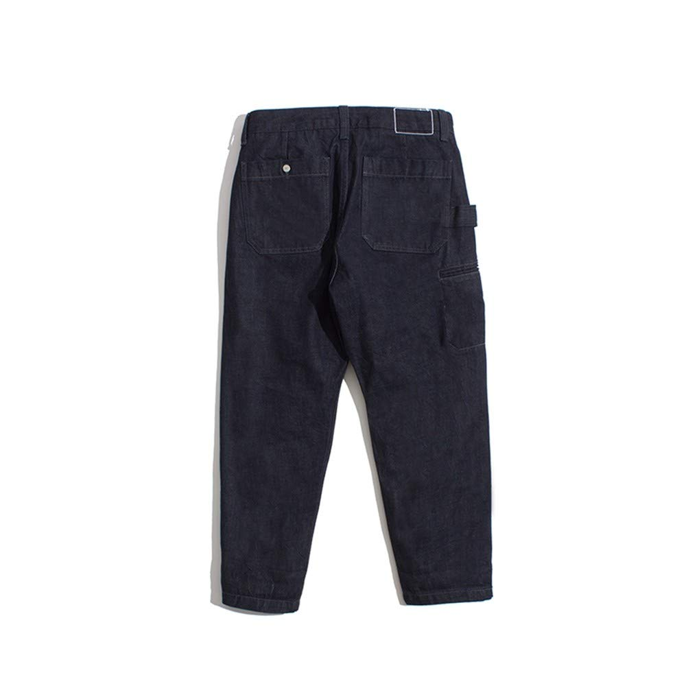 EVEORSSRA Jeanshosen Herbst Winter New Edition Typ Gute Gerade Neun Punkte Jeans