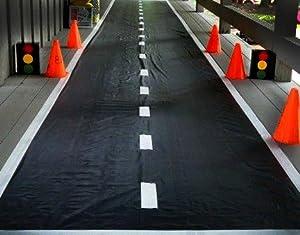 Amazon Com Adorox 1 Pk Racetrack Floor Runner Party