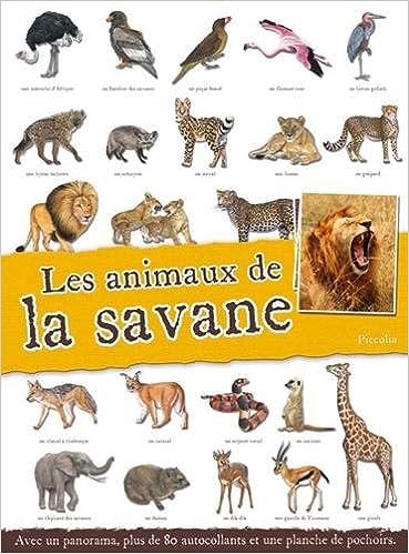 Lire Les animaux de la savane pdf, epub