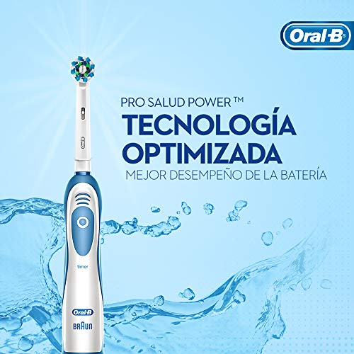 Escova Dental Elétrica Oral-B Pro-Saúde Power + Pilha Nanfeng , Oral-B