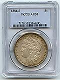 1886 S Morgan Dollar AU-55 PCGS