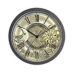 CafePress - Celestial Sun And Moon - Wall Clock