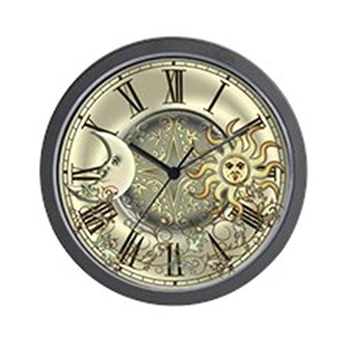 Celestial Clock - CafePress Celestial Sun and Moon Unique Decorative 10