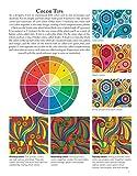 Boho Paisley Coloring Book