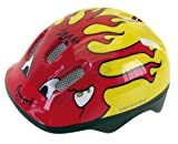 Ventura Children's Cycling Helmet, 48-52 cm, Little Devil (Red/Yellow)