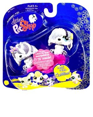 Littlest Pet Shop: Pairs and Portables - Sheepdog and Sheepdog