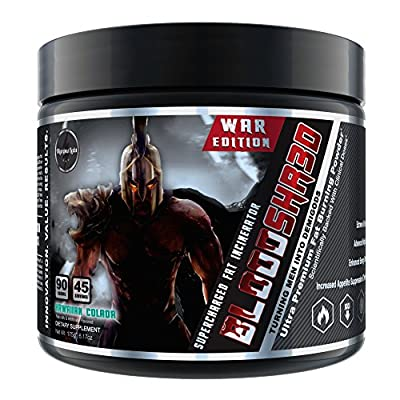BLOODSHR3D (WAR EDITION) Ultra Premium Fat Burning & Thermogenic Fuel by Olympus Labs
