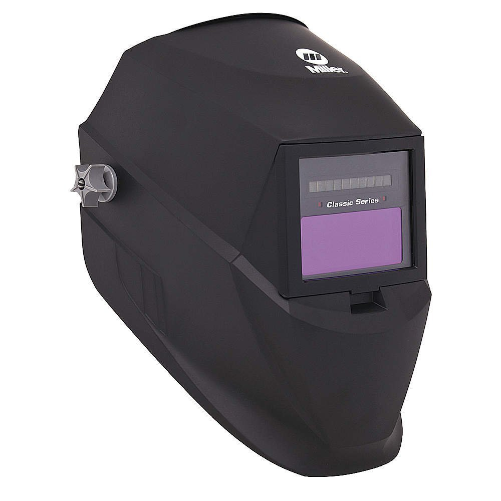 Welding Helmet, Shade 3 and 8-12, Black by Miller Electric
