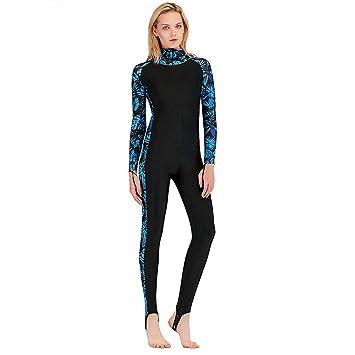 ZOZOV Traje de Buceo para Mujer Surf Completo Buceo Snorkel ...