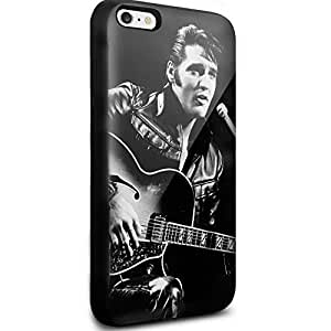 Elvis Presley Cool Face for Iphone and Samsung Galaxy (iPhone 6 black)