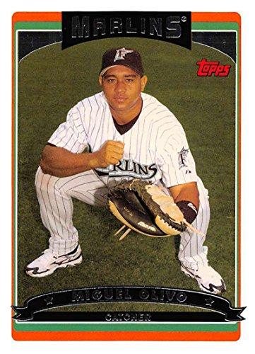- 2006 Topps Series 2 Baseball #561 Miguel Olivo Florida Marlins Official MLB Trading Card