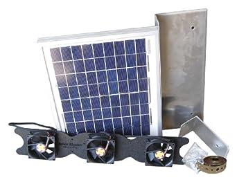 Solar Attic Fan For Ridge Vents Solar Roof Vent Solution