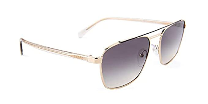 73b4001c4d Sunglasses Prada PR 61 US WCV130 GREY PALE GOLD at Amazon Men s ...
