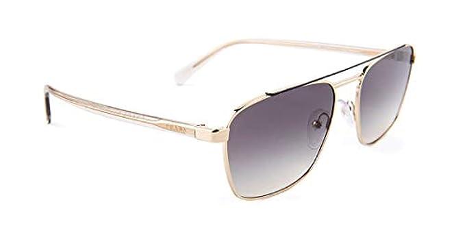 Prada 0PR 61US, Gafas de sol para Hombre, Grey/Pale Gold 59 ...