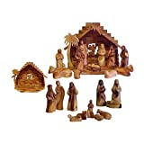 Bethlehem Faceless Olive Wood Nativity Set Pack Of 1