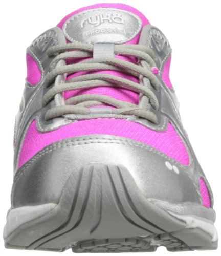 Chrome Women's 2 Stretch Ryka Steel Silver Pink Athena White Running Prodigy Shoe Grey 8dqxaEx