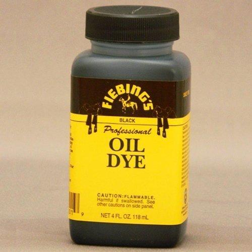 Dark Oil Leather (4 Oz Fiebings Professional Oil Dye Dark Chocolate)
